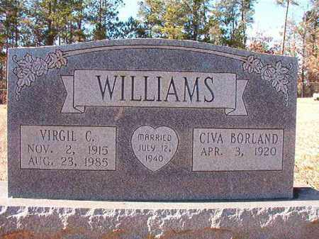 WILLIAMS, VIRGIL C - Dallas County, Arkansas | VIRGIL C WILLIAMS - Arkansas Gravestone Photos