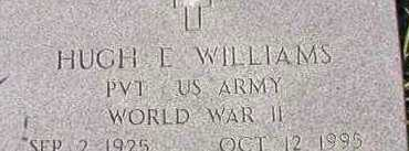 WILLIAMS (VETERAN WWII), HUGH E - Dallas County, Arkansas | HUGH E WILLIAMS (VETERAN WWII) - Arkansas Gravestone Photos
