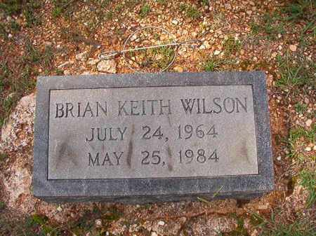 WILSON, BRIAN KEITH - Dallas County, Arkansas | BRIAN KEITH WILSON - Arkansas Gravestone Photos