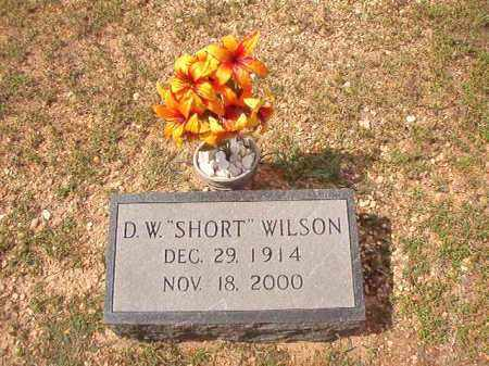 "WILSON, D W ""SHORT"" - Dallas County, Arkansas 