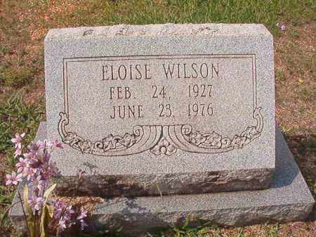 WILSON, ELOISE - Dallas County, Arkansas | ELOISE WILSON - Arkansas Gravestone Photos
