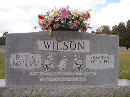 WILSON, ERNEST C - Dallas County, Arkansas | ERNEST C WILSON - Arkansas Gravestone Photos