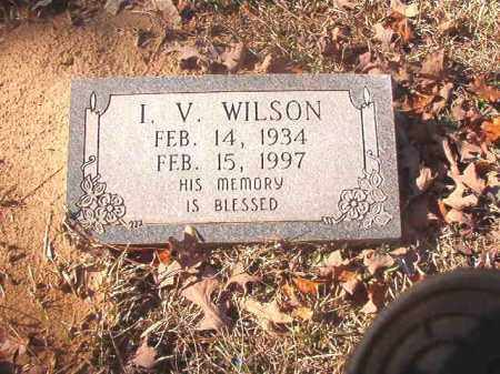 WILSON, I V - Dallas County, Arkansas | I V WILSON - Arkansas Gravestone Photos