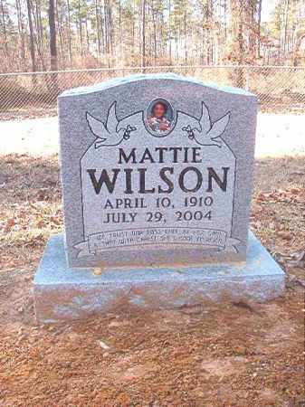 WILSON, MATTIE - Dallas County, Arkansas | MATTIE WILSON - Arkansas Gravestone Photos