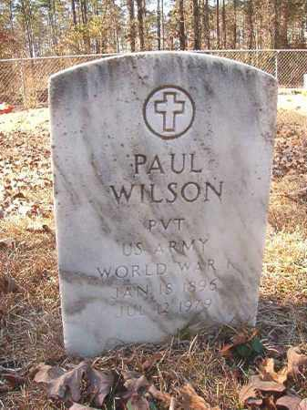WILSON, PAUL - Dallas County, Arkansas | PAUL WILSON - Arkansas Gravestone Photos