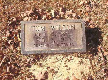 WILSON, TOM - Dallas County, Arkansas | TOM WILSON - Arkansas Gravestone Photos