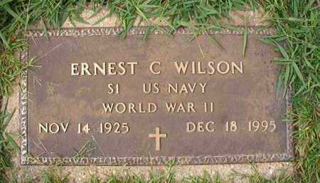 WILSON (VETERAN WWII), ERNEST C - Dallas County, Arkansas | ERNEST C WILSON (VETERAN WWII) - Arkansas Gravestone Photos