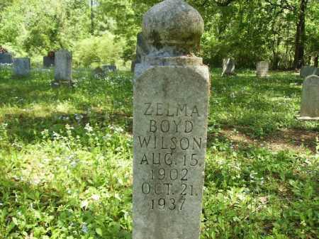 BOYD WILSON, ZELMA - Dallas County, Arkansas | ZELMA BOYD WILSON - Arkansas Gravestone Photos