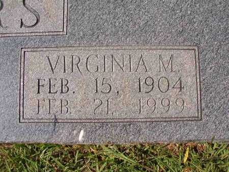 WINTERS, VIRGINIA M - Dallas County, Arkansas | VIRGINIA M WINTERS - Arkansas Gravestone Photos