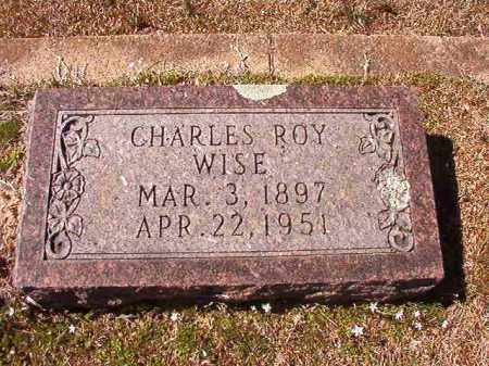 WISE, CHARLES ROY - Dallas County, Arkansas | CHARLES ROY WISE - Arkansas Gravestone Photos