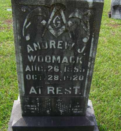 WOOMACK, ANDREW J - Dallas County, Arkansas | ANDREW J WOOMACK - Arkansas Gravestone Photos