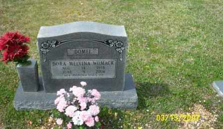 "WOMACK, DORA MELVINA ""DOMEL"" - Dallas County, Arkansas 
