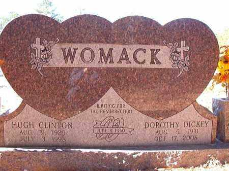 DICKEY WOMACK, DOROTHY - Dallas County, Arkansas | DOROTHY DICKEY WOMACK - Arkansas Gravestone Photos