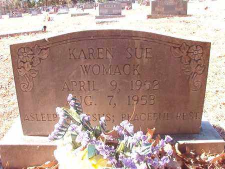 WOMACK, KAREN SUE - Dallas County, Arkansas | KAREN SUE WOMACK - Arkansas Gravestone Photos