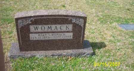 NOE WOMACK, MARY S (SIMS) - Dallas County, Arkansas | MARY S (SIMS) NOE WOMACK - Arkansas Gravestone Photos