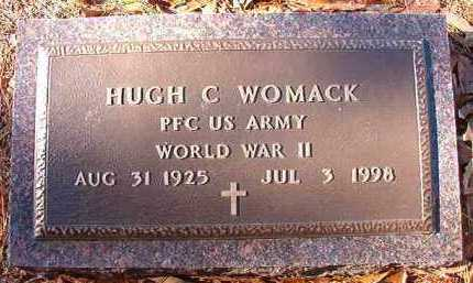 WOMACK (VETERAN WWII), HUGH C - Dallas County, Arkansas | HUGH C WOMACK (VETERAN WWII) - Arkansas Gravestone Photos
