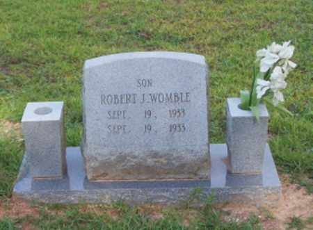 WOMBLE, ROBERT J. - Dallas County, Arkansas | ROBERT J. WOMBLE - Arkansas Gravestone Photos