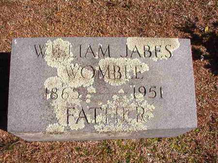 WOMBLE, WILLIAM JABES - Dallas County, Arkansas | WILLIAM JABES WOMBLE - Arkansas Gravestone Photos