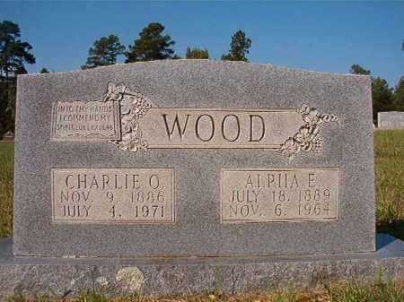 WOOD, CHARLIE O - Dallas County, Arkansas | CHARLIE O WOOD - Arkansas Gravestone Photos