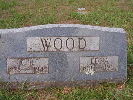 WOOD, EDNA - Dallas County, Arkansas | EDNA WOOD - Arkansas Gravestone Photos