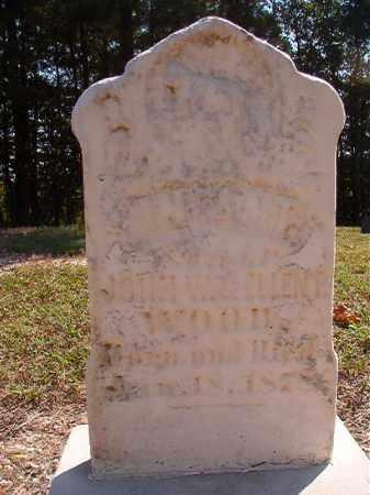 WOOD, INFANT SON - Dallas County, Arkansas | INFANT SON WOOD - Arkansas Gravestone Photos