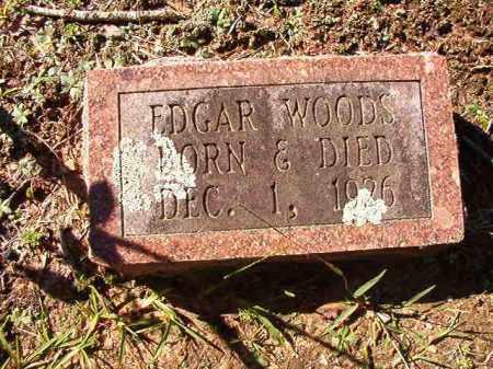 WOODS, EDGAR - Dallas County, Arkansas | EDGAR WOODS - Arkansas Gravestone Photos