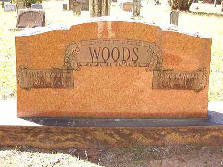 WOODS, JAMES EMMETTE - Dallas County, Arkansas | JAMES EMMETTE WOODS - Arkansas Gravestone Photos