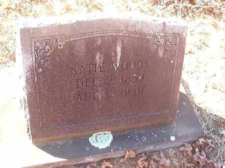 WOODS, KATIE - Dallas County, Arkansas | KATIE WOODS - Arkansas Gravestone Photos