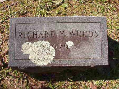 WOODS, RICHARD M - Dallas County, Arkansas | RICHARD M WOODS - Arkansas Gravestone Photos
