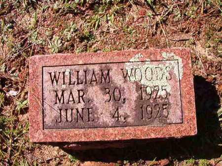 WOODS, WILLIAM - Dallas County, Arkansas | WILLIAM WOODS - Arkansas Gravestone Photos