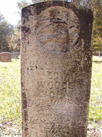 WOODS, WILLIAM EDWARD - Dallas County, Arkansas | WILLIAM EDWARD WOODS - Arkansas Gravestone Photos