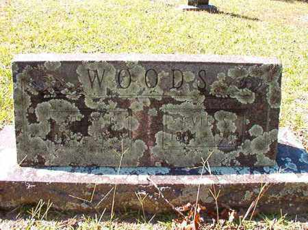 WOODS, WILEY E - Dallas County, Arkansas | WILEY E WOODS - Arkansas Gravestone Photos