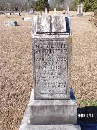 WORTHINGTON, NETTIE LEE - Dallas County, Arkansas | NETTIE LEE WORTHINGTON - Arkansas Gravestone Photos