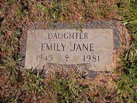WOZENCRAFT, EMILY JANE - Dallas County, Arkansas | EMILY JANE WOZENCRAFT - Arkansas Gravestone Photos
