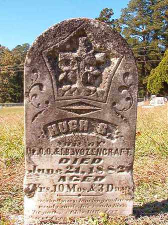 WOZENCRAFT, HUGH S - Dallas County, Arkansas | HUGH S WOZENCRAFT - Arkansas Gravestone Photos