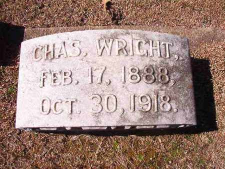 WRIGHT, CHAS - Dallas County, Arkansas | CHAS WRIGHT - Arkansas Gravestone Photos