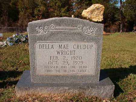 CRUDUP WRIGHT, DELLA MAE - Dallas County, Arkansas | DELLA MAE CRUDUP WRIGHT - Arkansas Gravestone Photos