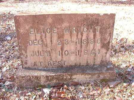 WRIGHT, ELIGE - Dallas County, Arkansas | ELIGE WRIGHT - Arkansas Gravestone Photos