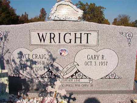 CRAIG WRIGHT, JOYCE - Dallas County, Arkansas | JOYCE CRAIG WRIGHT - Arkansas Gravestone Photos