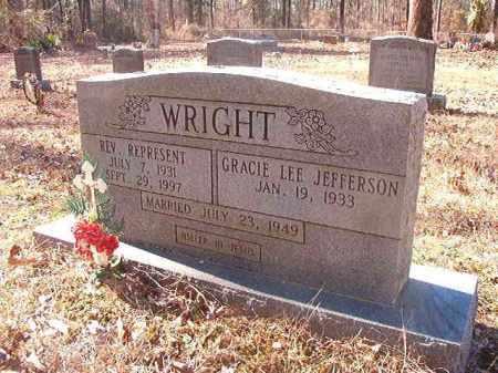 WRIGHT, REV, REPRESENT - Dallas County, Arkansas | REPRESENT WRIGHT, REV - Arkansas Gravestone Photos