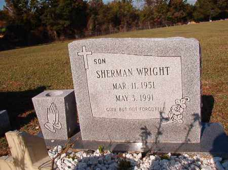 WRIGHT, SHERMAN - Dallas County, Arkansas | SHERMAN WRIGHT - Arkansas Gravestone Photos