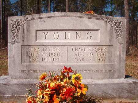 TAYLOR YOUNG, CORA - Dallas County, Arkansas | CORA TAYLOR YOUNG - Arkansas Gravestone Photos