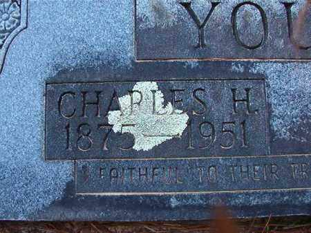 YOUNG, CHARLES H - Dallas County, Arkansas | CHARLES H YOUNG - Arkansas Gravestone Photos