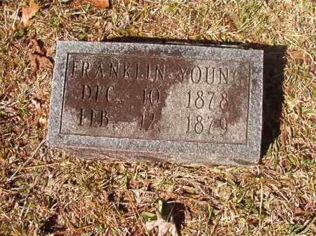 YOUNG, FRANKLIN - Dallas County, Arkansas | FRANKLIN YOUNG - Arkansas Gravestone Photos