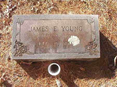 YOUNG, JAMES E - Dallas County, Arkansas | JAMES E YOUNG - Arkansas Gravestone Photos