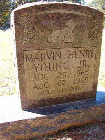 YOUNG, JR, MARVIN HENRY - Dallas County, Arkansas | MARVIN HENRY YOUNG, JR - Arkansas Gravestone Photos