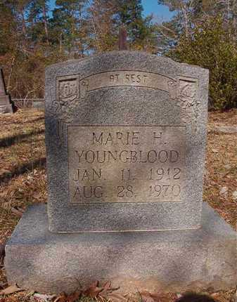 YOUNGBLOOD, MARIE H - Dallas County, Arkansas | MARIE H YOUNGBLOOD - Arkansas Gravestone Photos