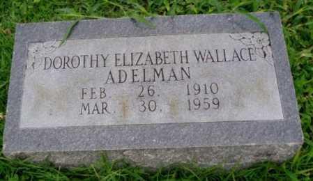 ADELMAN, DOROTHY ELIZABETH - Desha County, Arkansas | DOROTHY ELIZABETH ADELMAN - Arkansas Gravestone Photos