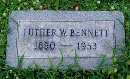 BENNETT, LUTHER W. - Desha County, Arkansas | LUTHER W. BENNETT - Arkansas Gravestone Photos
