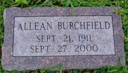 BURCHFIELD, ALLEAN - Desha County, Arkansas | ALLEAN BURCHFIELD - Arkansas Gravestone Photos